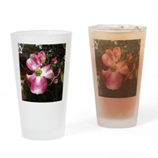 Dogwood Blossom Drinking Glass