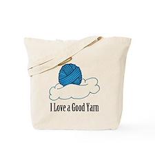 I Love A Good Yarn Tote Bag
