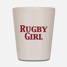 Rugby Girl Shot Glass