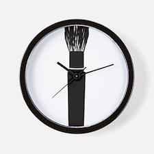 brush makeup Wall Clock
