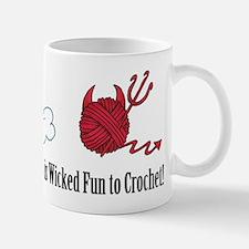 A Good Yarn is Wicked Fun to Crochet Mugs