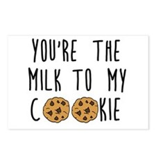 Milk to My Cookie Postcards (Package of 8)