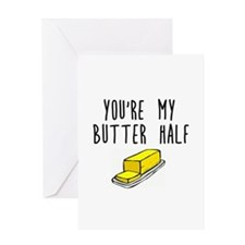 Butter Greeting Cards