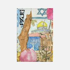 Israel,  Rectangle Magnet