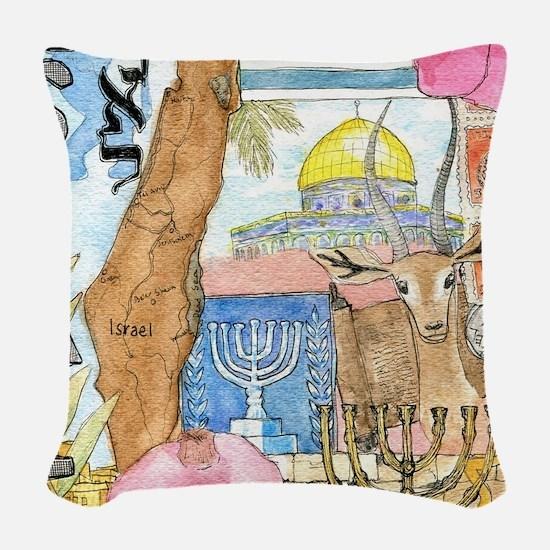 Israel,  Woven Throw Pillow