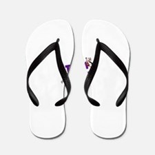 Team Amber Logo Flip Flops