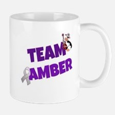 Team Amber Logo Mugs