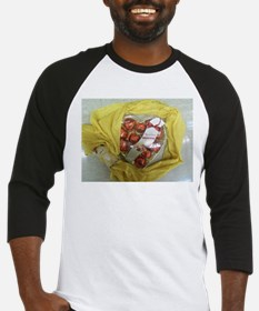 Russell Stover Heart Yellow. Baseball Jersey