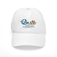 UAQ Logo tag line no shadow Baseball Cap