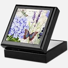 New botanical Keepsake Box