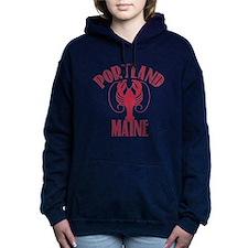 Portland Maine Women's Hooded Sweatshirt