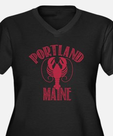 Portland Maine Plus Size T-Shirt