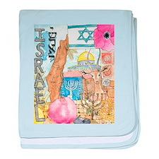 Israel, baby blanket