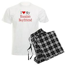 Love My Russian Boyfriend Pajamas