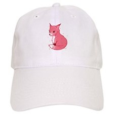 Cute Pink Fox Baseball Baseball Cap