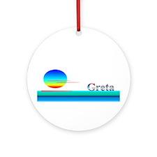 Gretchen Ornament (Round)