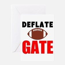 Deflate Gate Greeting Cards