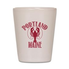 Portland Maine Shot Glass