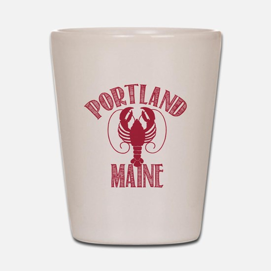 Portland Maine Shot Glass