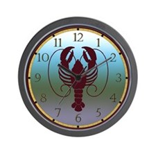 Portland Maine Wall Clock