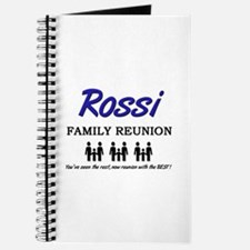 Rossi Family Reunion Journal
