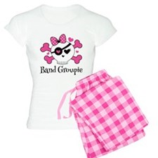 Band Groupie Girls Rock Skull Pajamas