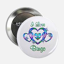 """I Love Bingo 2.25"""" Button"""