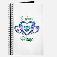 I Love Bingo Journal