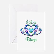 I Love Bingo Greeting Card