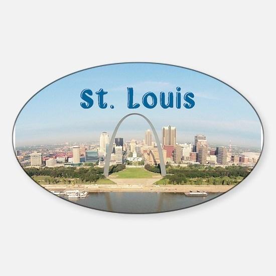 St. Louis Sticker (Oval)