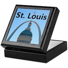 St. Louis Keepsake Box