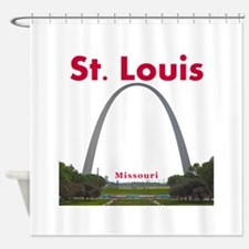 Saint Louis Cardinals Shower Curtains Saint Louis
