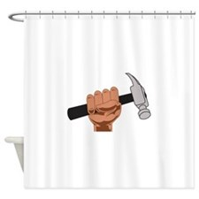HAMMER IN HAND Shower Curtain