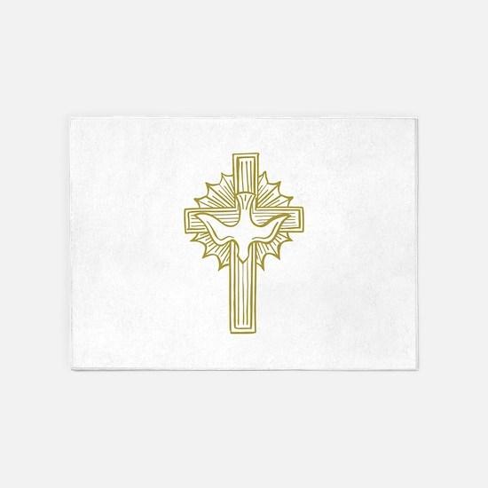 HOLY SPIRIT 5'x7'Area Rug