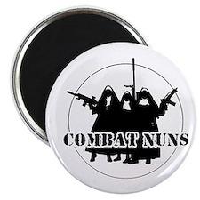 Combat Nuns Magnets