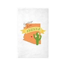 Greetings from Arizona Area Rug