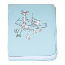 Rover baby blanket