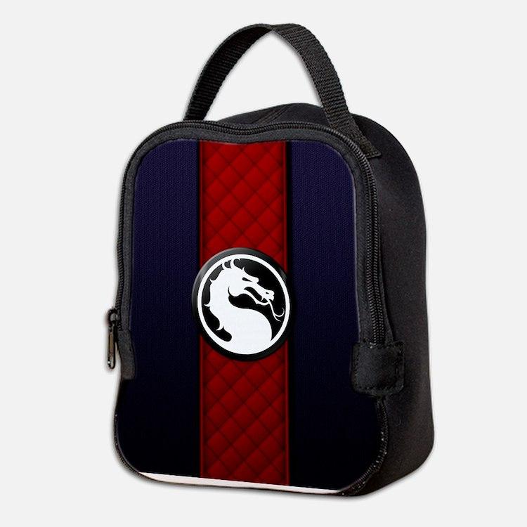 Mortal Kombat Logo - Ermac Neoprene Lunch Bag