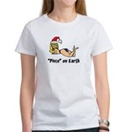 """Piece"" on Earth Women's T-Shirt"