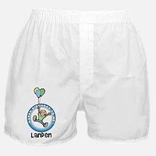Landen: Happy B-day to me Boxer Shorts