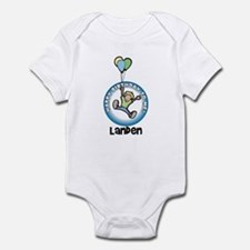 Landen: Happy B-day to me Infant Bodysuit