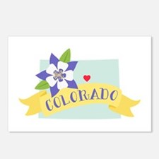 Colorado Rocky Mountain Postcards (Package of 8)