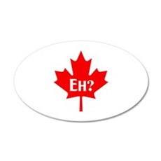 CANADA EH Wall Decal