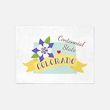 Colorado Centennial 5'x7'Area Rug