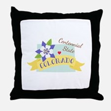 Colorado Centennial Throw Pillow