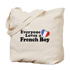 Everyone Loves a French Boy Tote Bag