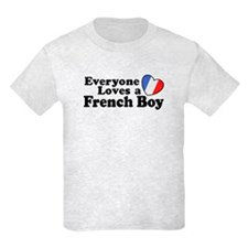 Everyone Loves a French Boy T-Shirt