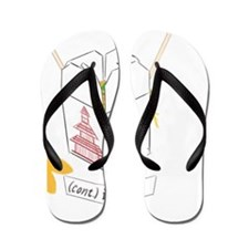"""Chinese Takeout - Fortune Cookie """"(cont Flip Flops"""