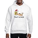"""Piece"" on Earth Hooded Sweatshirt"