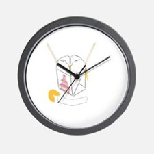 Customizable Fortune Cookie - Chinese T Wall Clock